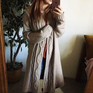 creamy soft cardigan